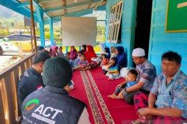 ACT Sumut distribusikan paket makanan untuk Kampung Mualaf
