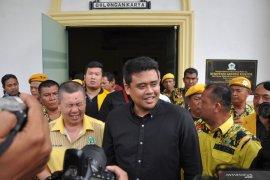 Bobby Nasution jalani uji kelayakan calon wali kota Medan di Golkar