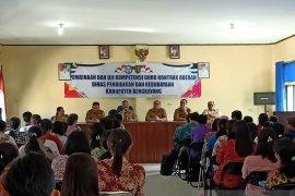 Ratusan guru kontrak daerah Bengkayang uji kompetensi