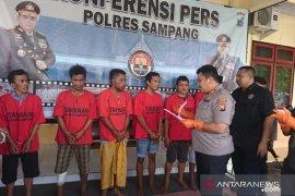 Polres Sampang ringkus enam tersangka narkoba