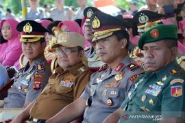 Kapolda kukuhkan operasional Polres Gorontalo Utara