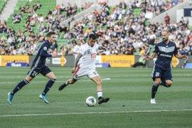 Bali United kalah 0-5 dari Melbourne Victory