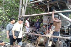 Polres Bangka tertibkan tambang ilegal di aliran sungai Perimping