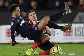 Liga Inggris - Empat pekan ke depan, West Ham masih tanpa Felipe Anderson
