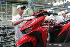 Kinerja ekspor Astra Honda Motor naik