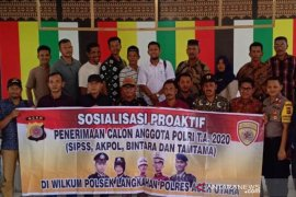 Bhabinkamtibmas sosialisasi penerimaan Polri di Aceh Utara