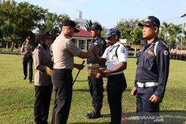 Polisi berikan penghargaan bagi Satpam terbaik di Aceh Utara