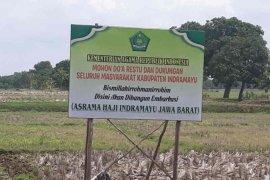 Asrama embarkasi haji di Indramayu mulai dibangun