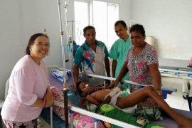 Korban gigitan ular langka selamat, berikut cerita dokter Maharani