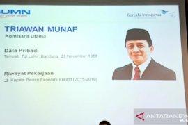 Triawan Munaf dan Irfan Setiaputra jabat Komut serta Dirut baru PT Garuda