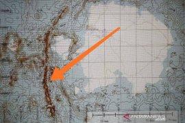 Laut Bangka Selatan - Belitung miliki tiga kilometer patahan sangat tua