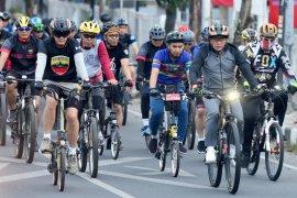 Bersepeda keliling Medan, Gubernur dan Pangdam I/BB ajak masyarakat berolahraga dan hidup sehat