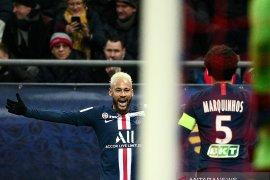 Neymar punya andil besar PSG menang 3-0 atas Reims