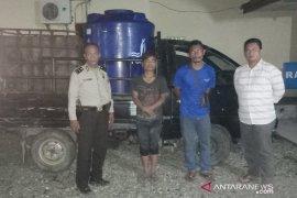 Warga tangkap pembuang limbah PT. Halindo ke Sungai Asahan
