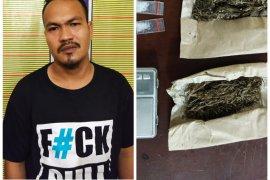 Polres Langkat tangkap warga Tanjung Pura pemilik sabu-sabu dan ganja