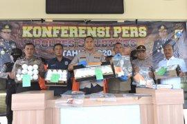 Polres Situbondo sita 44.000 butir pil trex siap edar (Video)