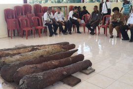 Balar Maluku data peninggalan meriam kuno