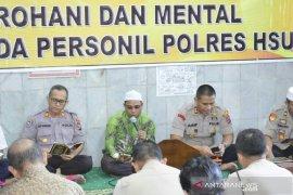 Kepolisian pupuk profesional lewat pengajian
