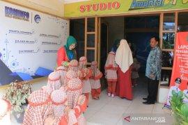 Studio TV Kominfo jadi ruang belajar siswa