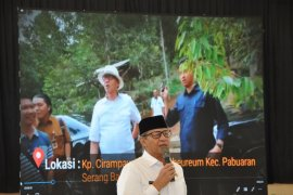 Pemprov Banten sosialisasikan Gerakan Komando Strategis Pembangunan Pertanian