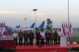 Presiden Jokowi resmikan landasan pacu 3 Bandara Soekarno-Hatta