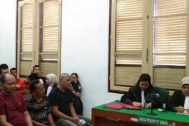 PN Medan vonis hukuman mati lima kurir sabu-sabu 56 kg