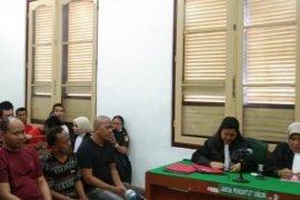 PN Medan hukum mati lima kurir sabu-sabu 56 kg