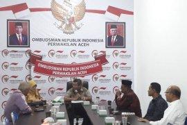 Ombudsman: Pelayanan publik sejumlah daerah di Aceh masih zona merah