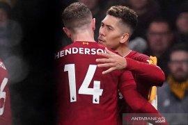 Liverpool redam Wolverhampton 2-1 dan kembali mencetak keunggulan 16 poin