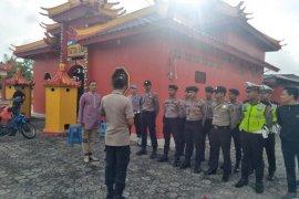 Polres Bangka Tengah kerahkan 99 personel amankan Imlek
