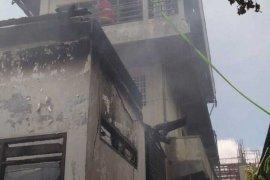 BPBD Denpasar tangani tiga bangunan terbakar di Hayam Wuruk