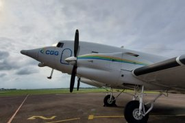Cari cadangan minyak baru di Sarolangun, SKK Migas-Repsol terbangkan pesawat khusus