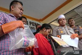 Polres Sampang  tangkap ibu rumah tangga pengedar narkoba