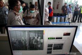 Pencegahan virus Corona di bandara Juanda