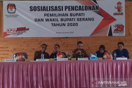 KPU Serang sosialisasikan pencalonan Pilkada Serang 2020