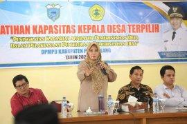 Bupati Pandeglang Irna Narulita minta kepala desa terpilih miliki inovatif