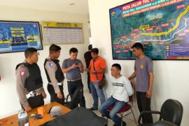 PJR Lampung tangkap pelaku curas di gerbang tol