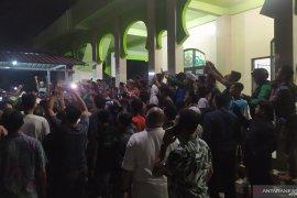 Sekelompok orang serang masjid di Sumut