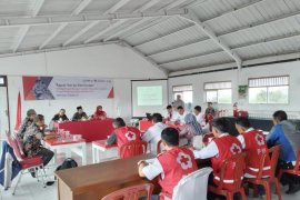 PMI Kota Sukabumi kembangkan kerja sama dalam upaya mitigasi bencana