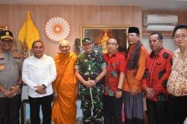 Pangdam I/BB sebut snergitas TNI-Polri memberikan rasa aman selama Imlek