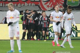 Liga Jerman: Leipzig tergelincir di kandang Frankfurt