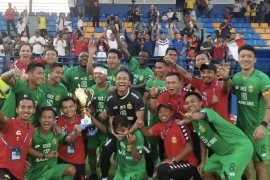 Bhayangkara FC juarai turnamen internasional di Kamboja