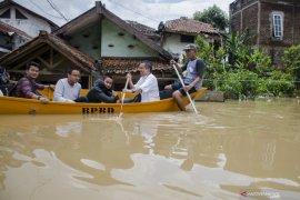 Warga terdampak banjir di Kabupaten Bandung meningkat jadi 60.055 jiwa