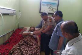 Polisi mintai keterangan wartawan Antara korban pengeroyokan