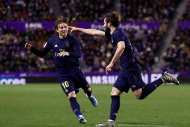 Liga Spanyol, Nacho antarkan Real Madrid ke puncak klasemen