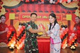 Pangdam dan Kapolda hadiri Open House Walikota Singkawang