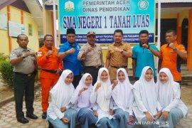 Siswa Aceh Utara diedukasi tanggap bencana