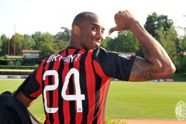 AC Milan tim paling berduka atas kematian Kobe Bryant