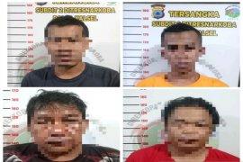 Selipkan 1 kg sabu-sabu di sepatu, dua pria asal Aceh ditangkap di Bandara Syamsudin Noor