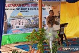 Pemprov Kalbar bantu pengadaan seribu mebel SMP Qur'an di Kubu Raya